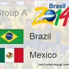 Group Brazil vs Mexico World Cup
