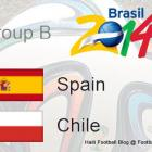 Groupe Spain Chile World Cup 2014