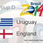 Groupe Urugway vs England World
