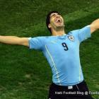 Luis Suarez Uruguay ap fete apre