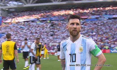 Has Lionel MESSI retired from international football?