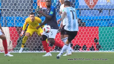 Argentina scores... France vs Argentina - 2018 FIFA World Cup Russia