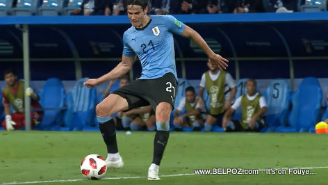 Edinson Cavani sends Uruguay to World Cup last eight after beating Portugal in 2018 FIFA World Cup in Russia