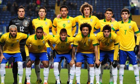 Brazil Football Team - Equipe Footbal Brezil la